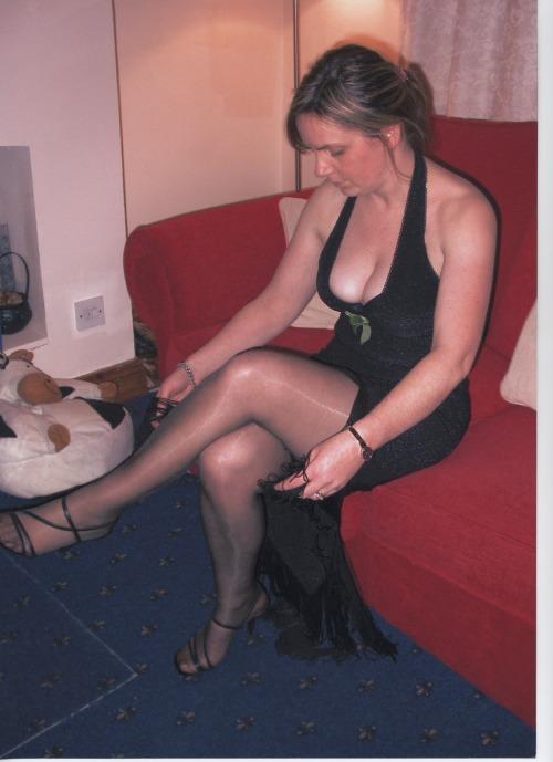 Photos prives et personnelles d'une belle mature gros