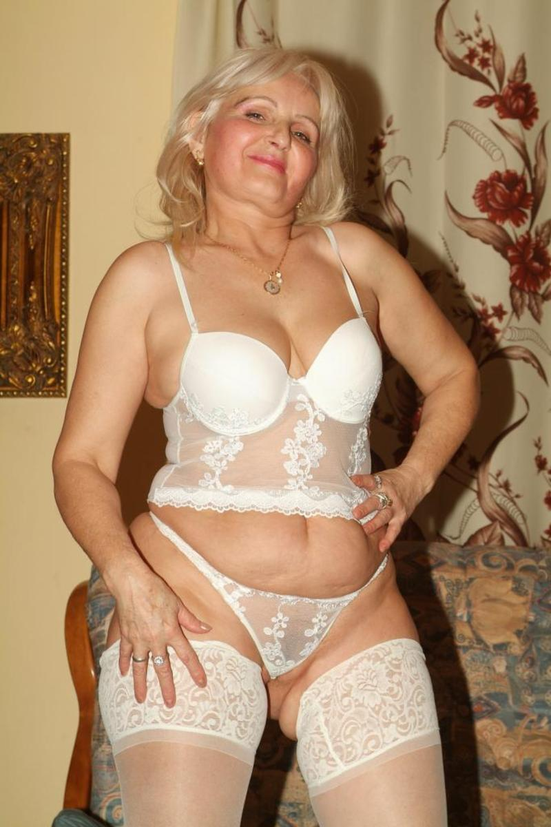 This busty nude mature women are